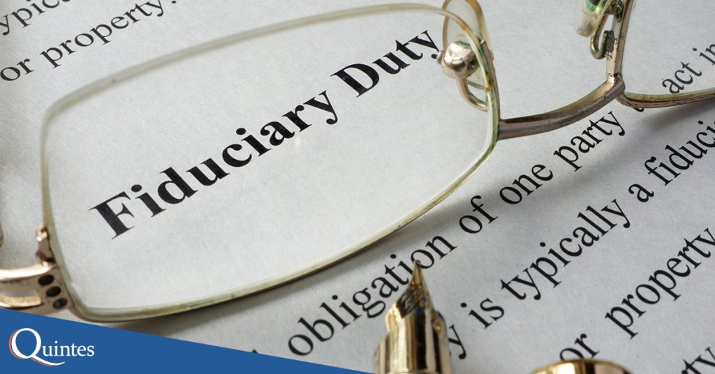your 401k fiduciary duties